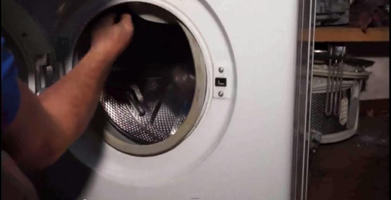 Замена резинки в стиральной машине индезит своими руками