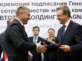 В России построят еще 21 (!!!) предприятие автомобильной промышленности - Magna
