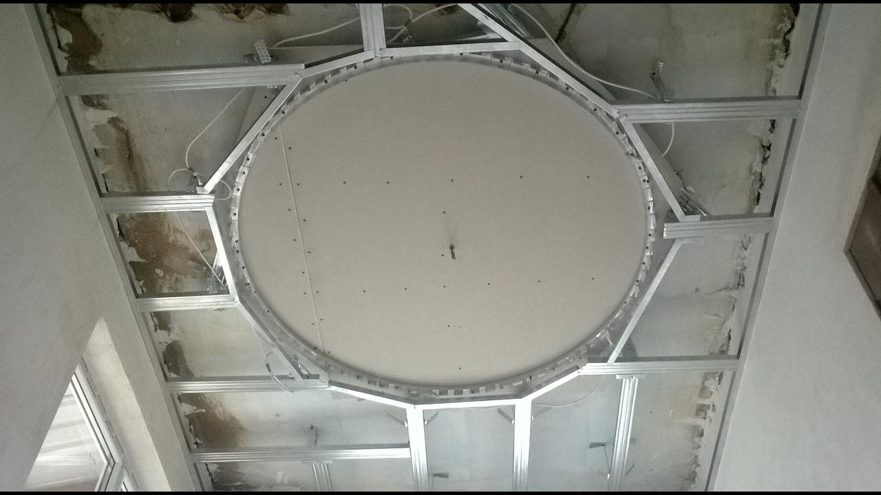 Крышка на коробочГипсокартонный потолок своими руками пошаговая