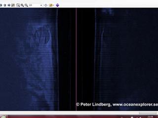 Изображения с сонара. Иллюстрация с сайта oceanexplorer.se