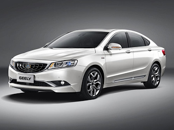 Geely GC9. Фото Geely