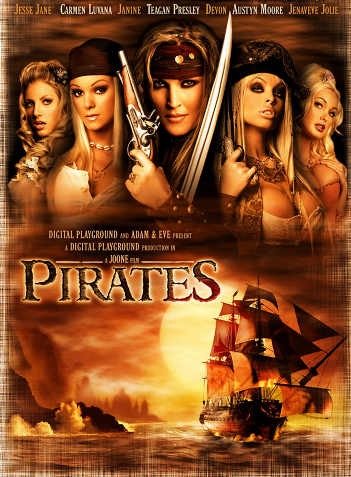 Pirates the porno movie erotic scenes