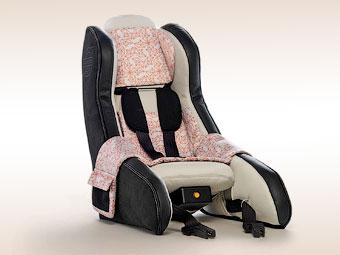 Volvo создала надувные детские кресла