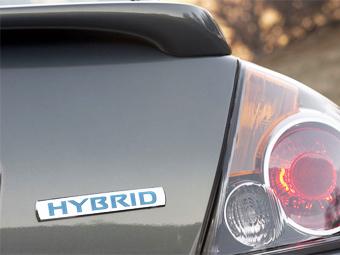 Nissan Altima Hybrid. Фото Nissan
