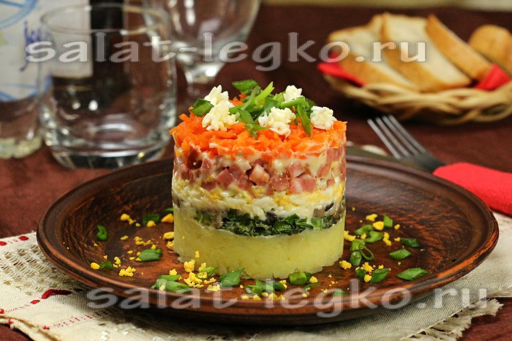 Рецепты самых вкусных салатов