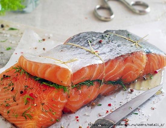 Рецепт соленой рыбы в домашних условиях с фото
