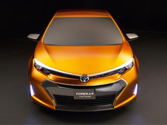 Toyota Corolla Furia Concept. Фото Toyota