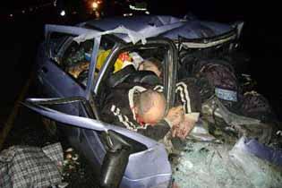 Жуткое ДТП в Казахстане: погибли четыре человека, в том числе два грудных ребенка