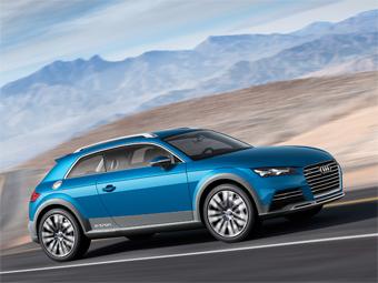 Audi allroad shooting brake. Фото Audi