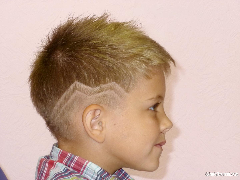 Детские стрижки для мальчика 2 лет
