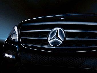 """""""Звезда"""" Mercedes-Benz получит светодиодную подсветку"""