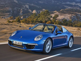 Porsche 911 Targa. Иллюстрации Porsche с сайта autoblog.nl