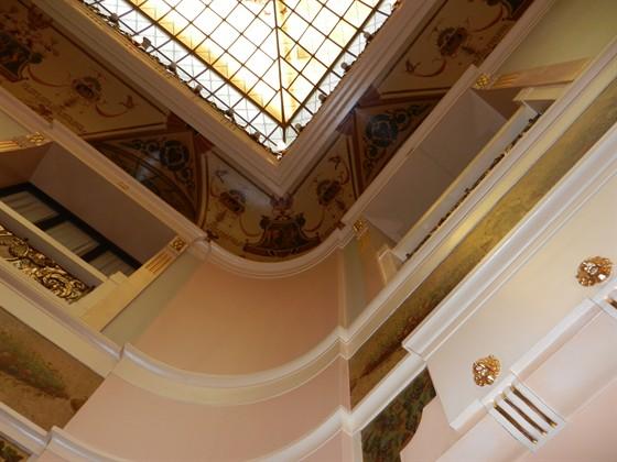 Ресторан Метрополь - фотография 5 - Стена, часть потолка