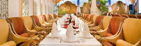 Ресторан Тадж-Махал - фотография 4 - Банкет В Тадж Махале как восточная сказка! Кто смотрел на наши свадебные фото, сразу вопрос: А где это вы были?