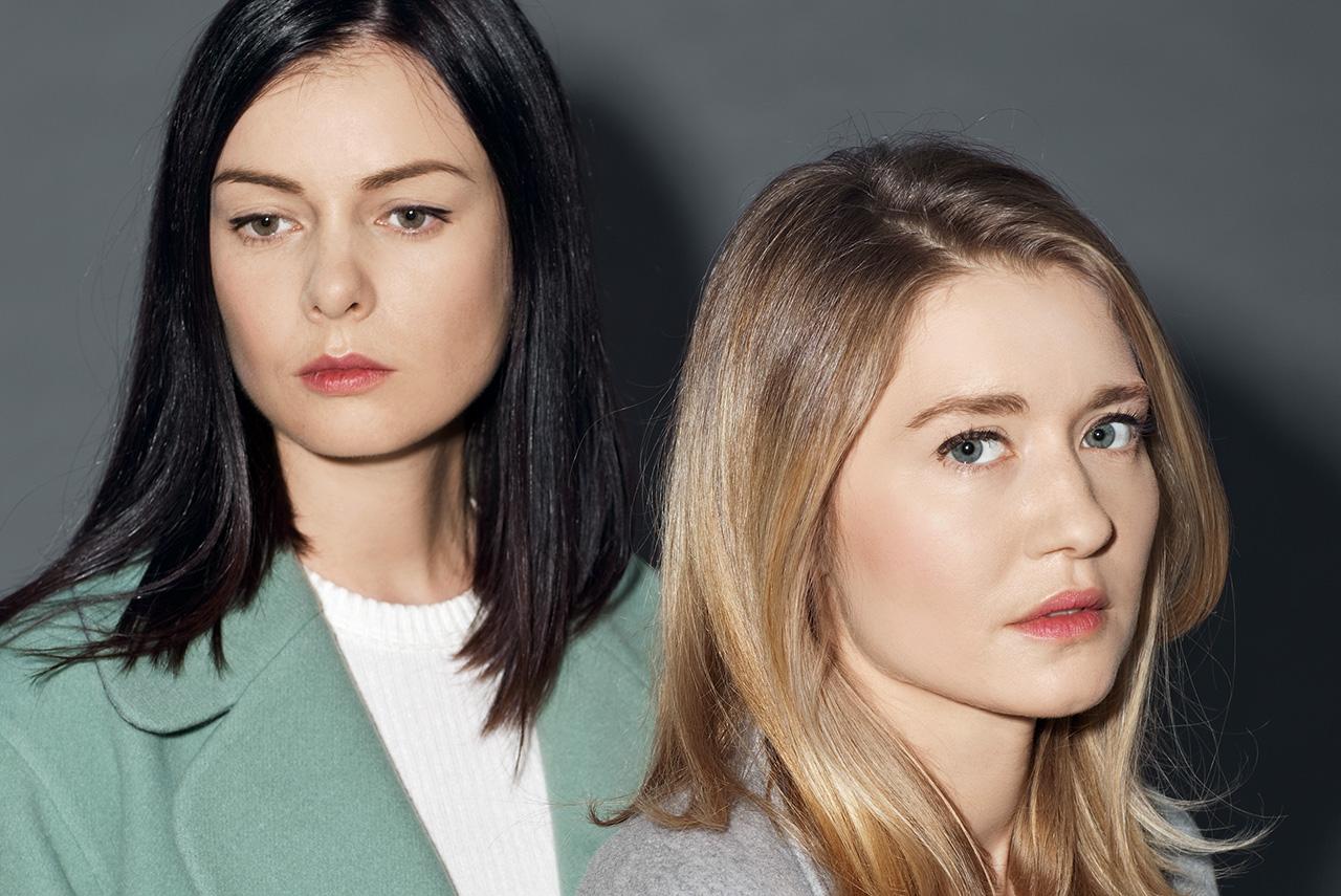 Ольга Страховская, главный редактор сайта Wonderzine, и Полина Сохранова, главный редактор журнала Cosmopolitan