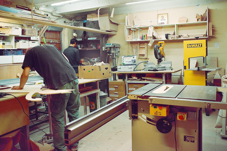 Схема Как устроена столярная мастерская