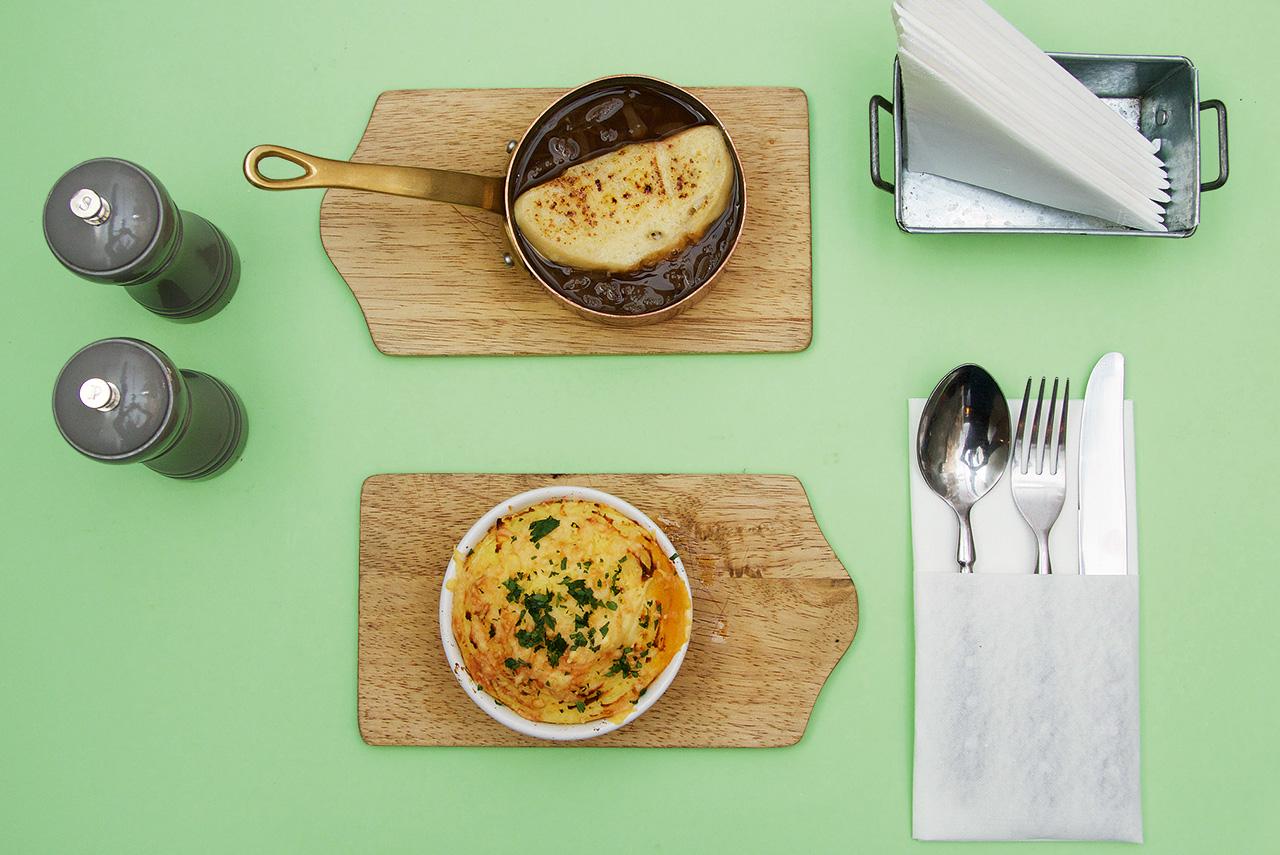 Луковый суп и пастушья запеканка 350 р.