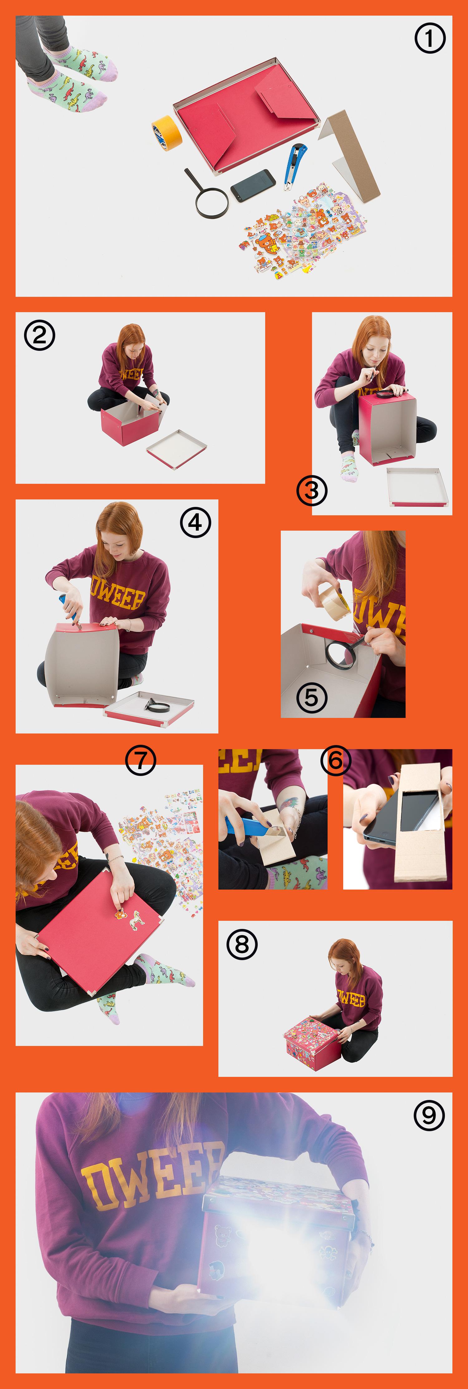 Инструкция Как сделать проектор для телефона