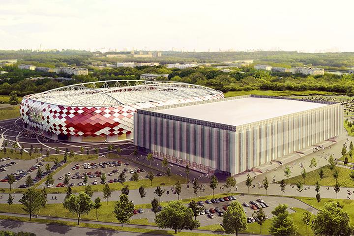 стадион «Спартака» - «Открытие Арена»