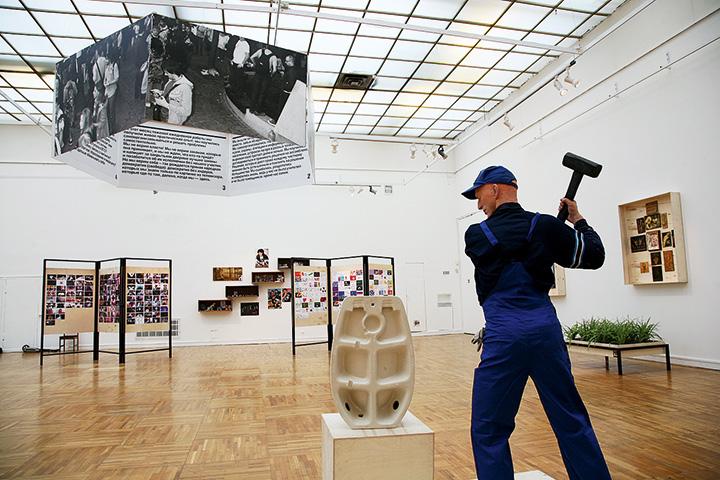 Пример: Арсений Жиляев. Музей пролетарской культуры. Индустриализация богемы, 2012
