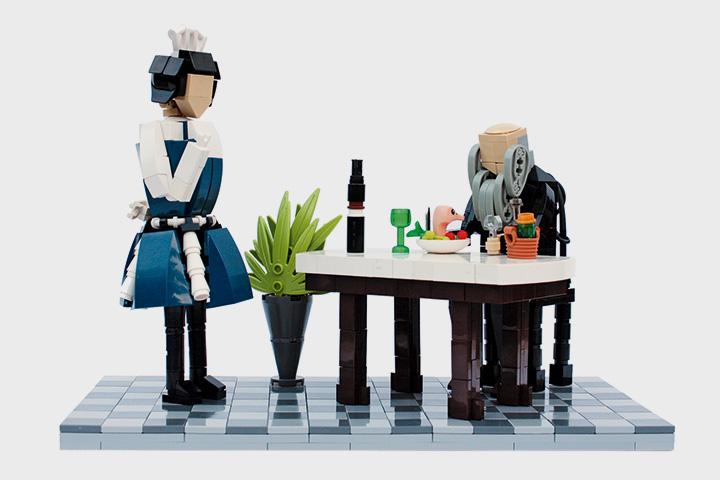 Необычная модель, сделанная на финском Lego-конкурсе Palikkatakomo