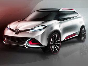 MG представит конкурента Nissan Juke - MG