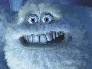 Снежный человек из мультфильма «Корпорация монстров»