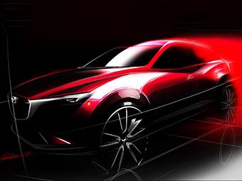 Mazda в ноябре представит компактный CX-3 - Mazda