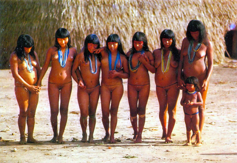 Дикие Племена Обнаженные Фото