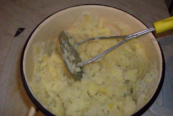 Как сделать пюре из картошки с яйцом и молоком 110