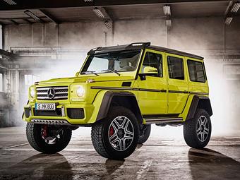 Mercedes-Benz представила экстримальный концепт-кар G500 4x4 - Mercedes-Benz