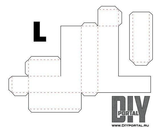 Объемные буквы из картона своими руками схемы шаблоны