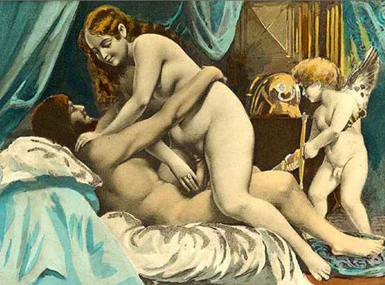 Анальный секс в древности видео