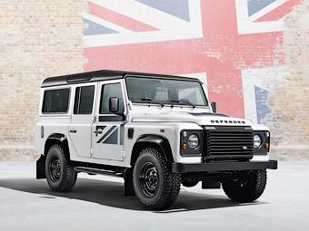 Land Rover сворачивает в РФ продажи внедорожников двойного назначения - Land Rover