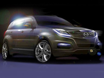 SsangYong Actyon (Action) 2 15-2 14 года описание