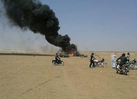 Сирийская группировка захватила тела россиян сосбитого Ми-8