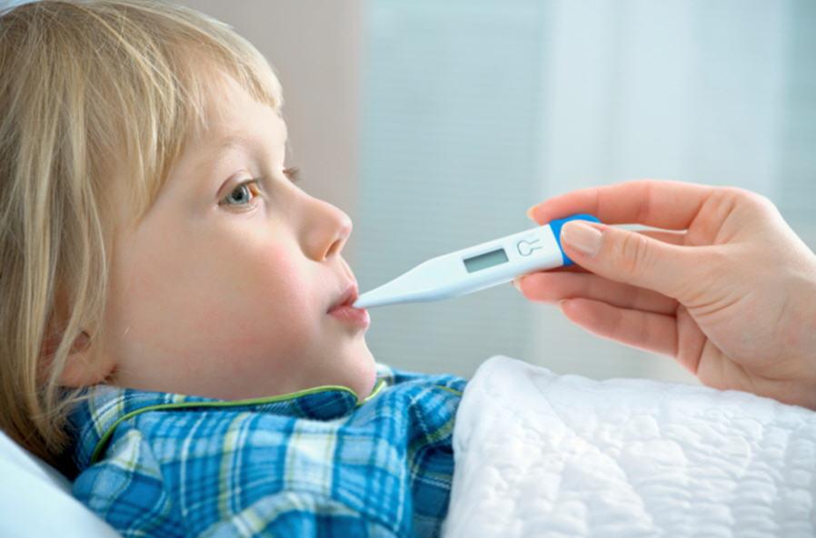 У ребенка после высокой температуры болят ноги