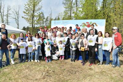 Свыше 316тыс. саженцев высадили вПодмосковье вцентральный день акции «ЛесПобеды»
