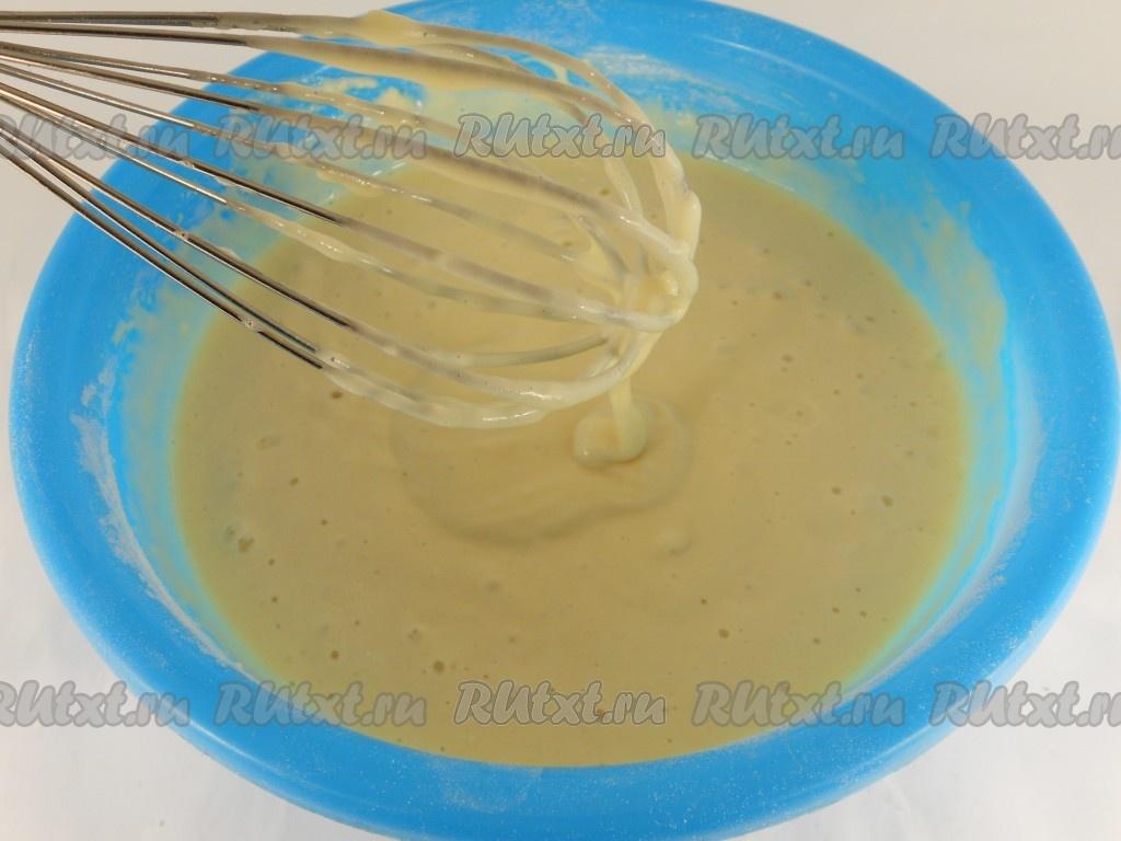 оладья молоке пошаговый фото рецепт