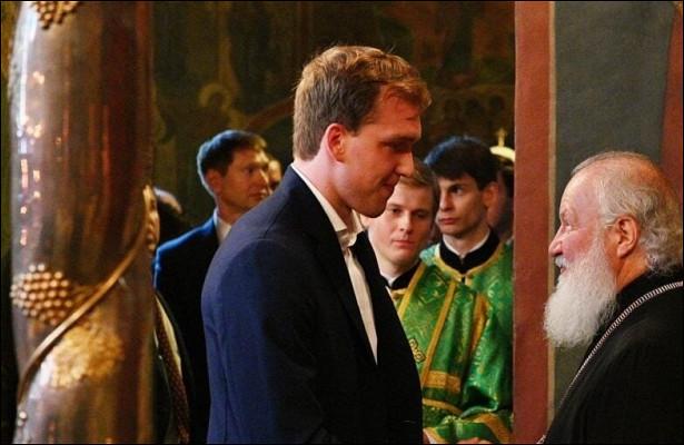 «Упатриарха Кирилла положительная энергия. Видимо, зарядил меня». Василевский оКубке Стэнли