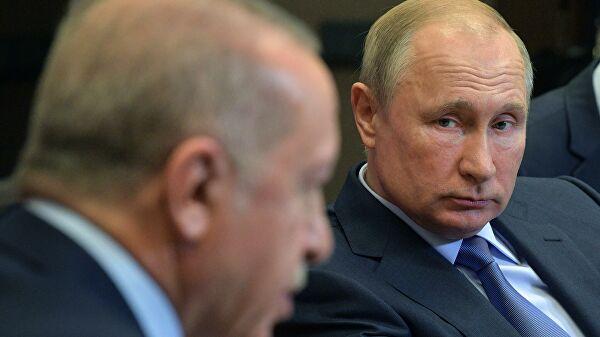 Путин иЭрдоган обсудили производство российских вакцин вТурции