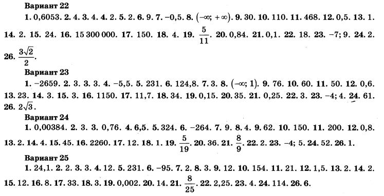 Решебник по огэ математика 2017 ященко 7 вариант ответы с решением