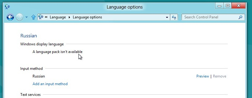 How To Manually Install Language Packs In Windows 8