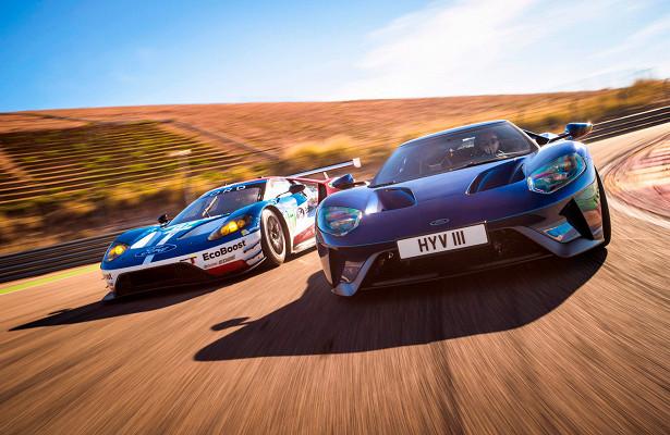 История суперкара Ford GT: победа на«24часах Ле-Мана», технические характеристики, фото