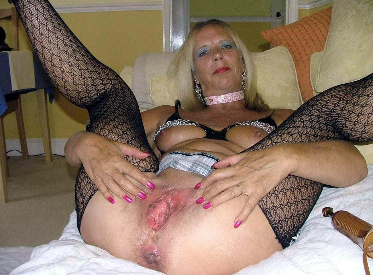 Whore old women naked 7