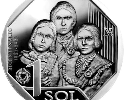 1соль серии «Женщины-борцы занезависимость Перу»