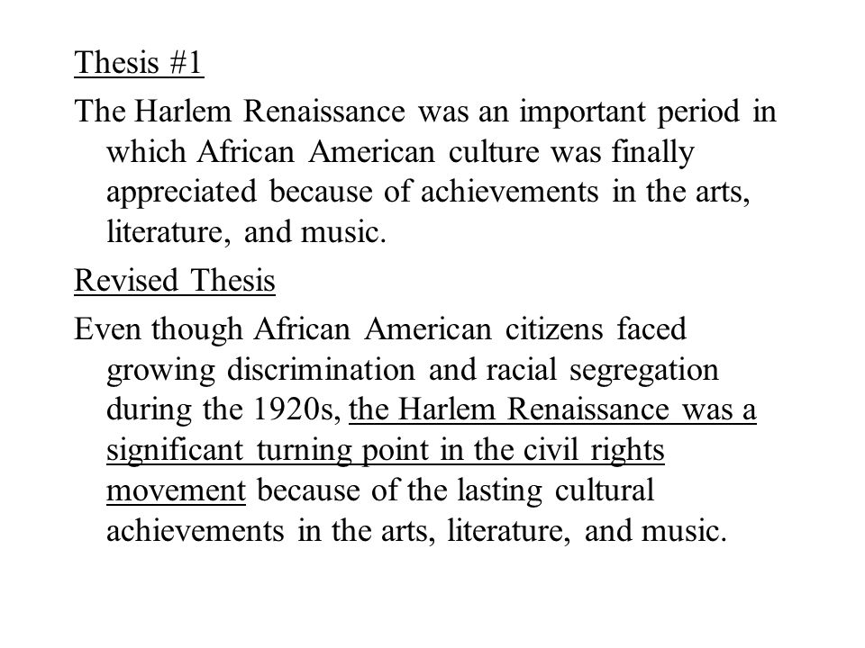Harlem renaissance research essay moving out essay