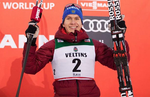 Русский лыжник наказал норвежца нафинише, когда тотначал отмечать