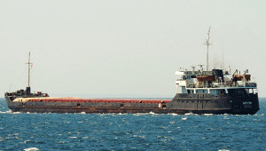 Турецкий фрегат прибыл наместо крушения сухогруза вЧерном море