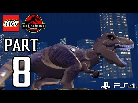 Lego Jurassic World Walkthrough - videogamesblogger